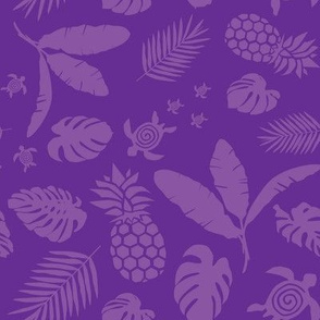 Tiki toons purple background lg