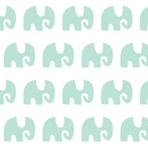 Elephant Parade - Aqua