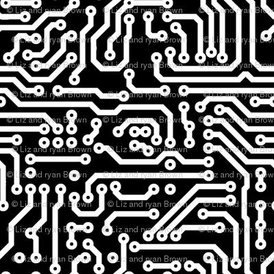 Circuits // Black & White