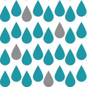 Blue_Raindrops