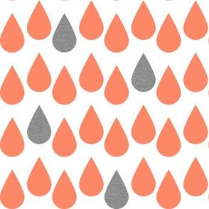 Orange_Raindrops