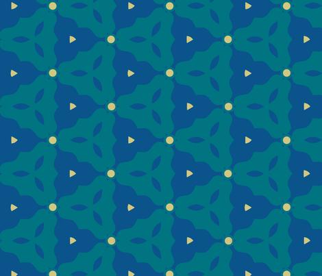 Seagrass Geometric fabric by mariafaithgarcia on Spoonflower - custom fabric