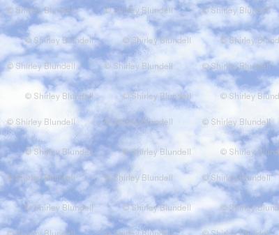 clouds big     repeat 36 inch