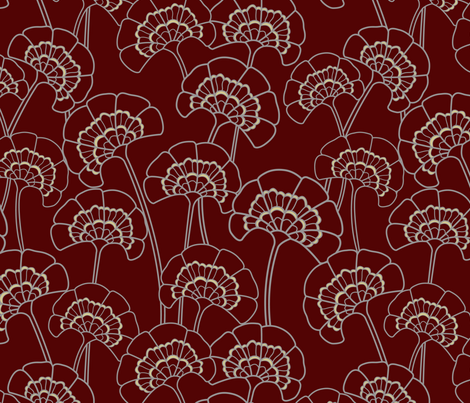 gueth_florence_pattern fabric by juditgueth on Spoonflower - custom fabric