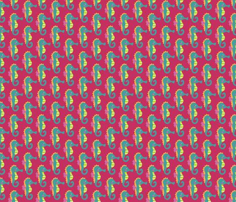 Seahorse Medley fabric by diannemehta on Spoonflower - custom fabric