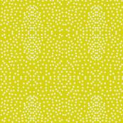 Pewter Pin Dot Patterns on Bush Lemon
