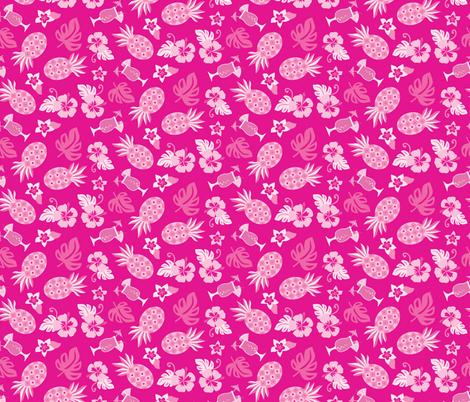 Pineapple Party fabric by lisa_kubenez on Spoonflower - custom fabric