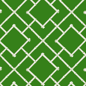 Osaka Bamboo Trellis // Green