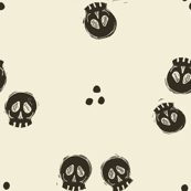 Bitty Skulls - pepper