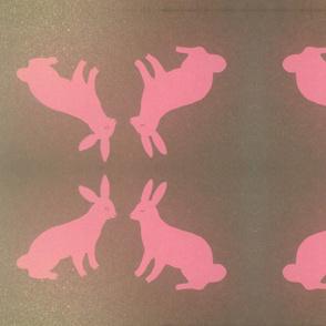 Pink Love Bunnies