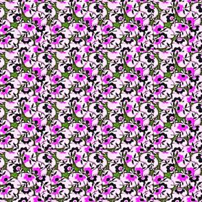Pretty Pansies Pink