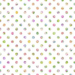 colored dots small scale