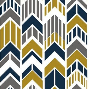 Arrows_Navy_Gold_Gray_Stripes