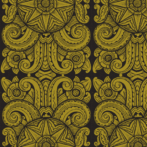 Chicago Moderne 1g fabric by muhlenkott on Spoonflower - custom fabric