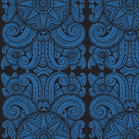 Chicago Moderne 1i fabric by muhlenkott on Spoonflower - custom fabric