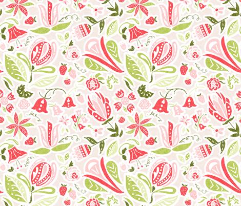 Summer Delight fabric by noondaydesign on Spoonflower - custom fabric