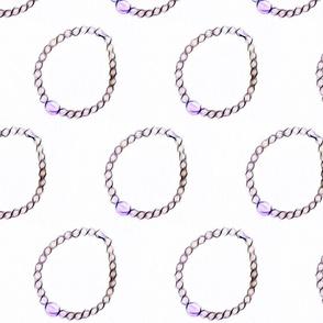 Mauve Bracelet
