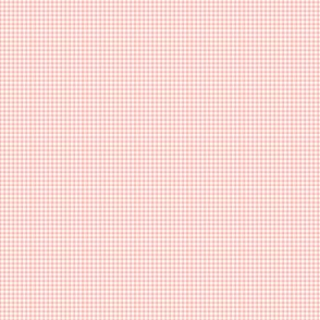1:6 1/4-Inch Gingham-Melon And White