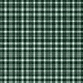 Plaid 1 White On Phthalo Green 1:6