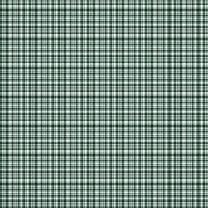 Plaid 6 Phthalo Green On White 1:6