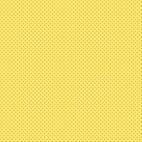 1:6 Polka Dots-Pastel Pink On Maize Yellow