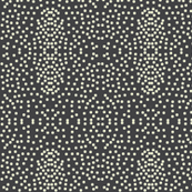 Pewter Pin Dot Patterns on Shadow Grey