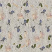 Rose Petals and Violets