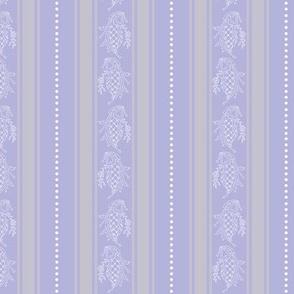Purple Fancy Stripe