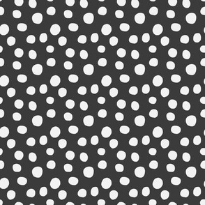 Dots Charcoal - Med