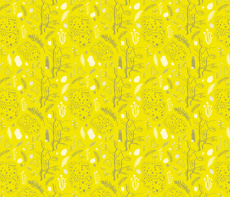 chartreuse-woods fabric by krista_power on Spoonflower - custom fabric