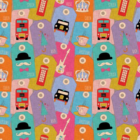 GreatBritainTags-Color fabric by leventetladiscorde on Spoonflower - custom fabric