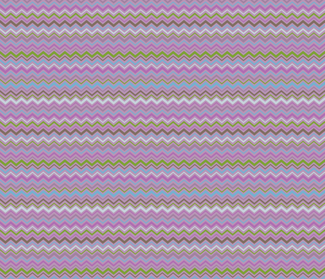 FruitBlossomChevron fabric by blairfully_made on Spoonflower - custom fabric