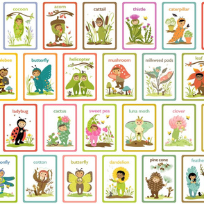 Little Cuties Nature Cards