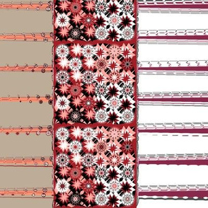 Starburst Border Lines Design