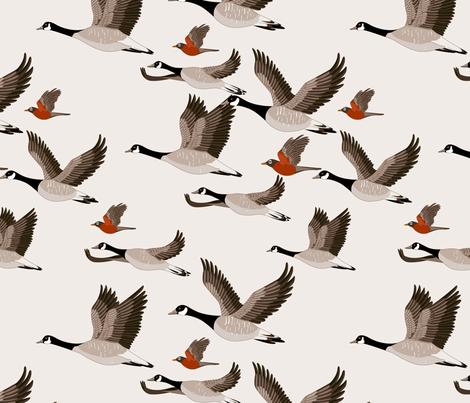 gueth_migratory_birds fabric by juditgueth on Spoonflower - custom fabric