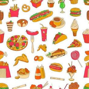 Colored__hand_drawn_fast_food__pattern