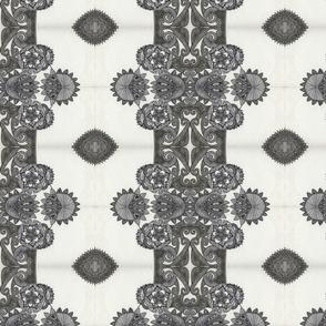 Black and White Kaleidoscope