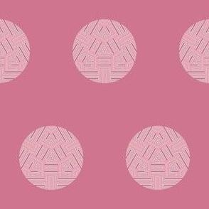 Pink Maze Dot