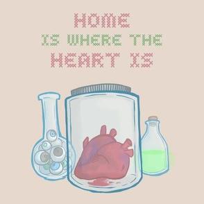 Heart Jar Cushion Swatch