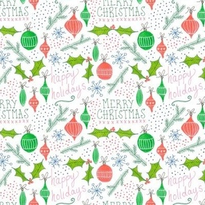 festive holiday pattern
