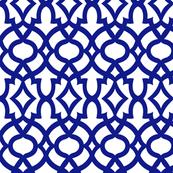 moroccan tile - indigo