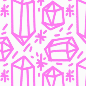 Diamonds are like, 4evs. Pink.