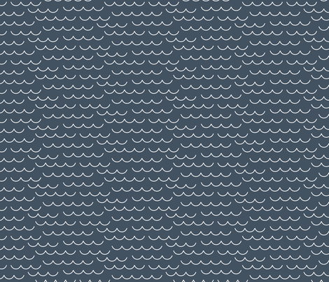 By the Sea – Waves fabric by lemonni on Spoonflower - custom fabric