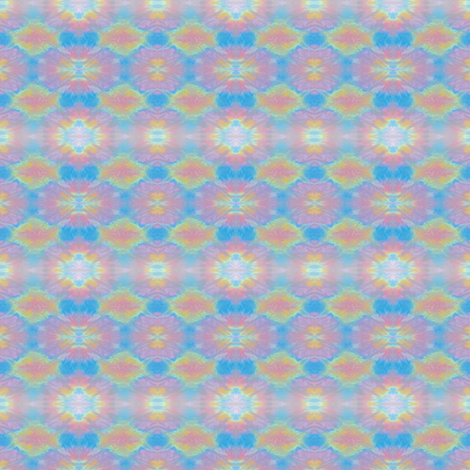 Pastel_Mandala_Style_2 fabric by karwilbedesigns on Spoonflower - custom fabric