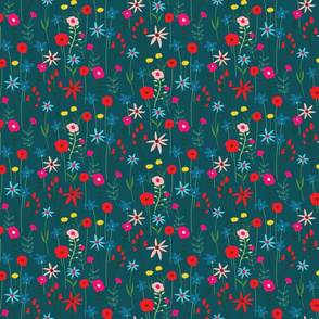 Wildflowers_spoonflower