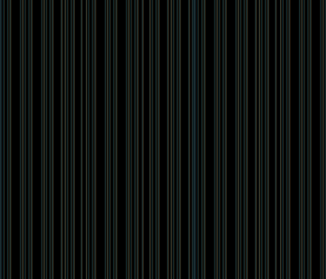 Steampunk Barcode Stripe in dark turquoise fabric by coppercatkin on Spoonflower - custom fabric