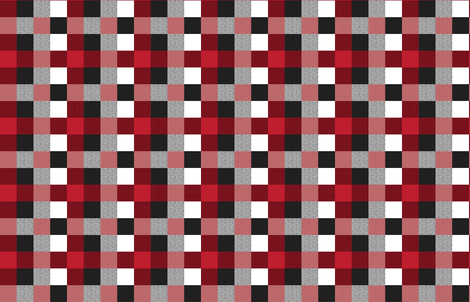 Buffalo Check Plaid Textured fabric by portage_and_main on Spoonflower - custom fabric