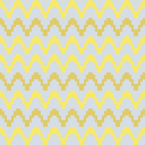 staccato - corn yellow & mustard