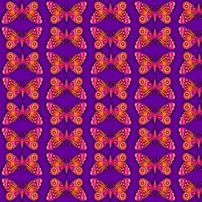 Purple Diamond Butterflies