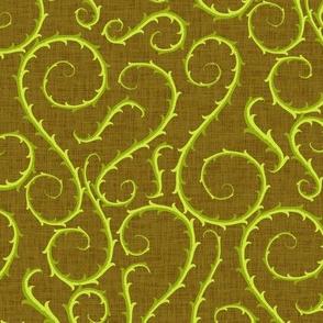 Vines - green